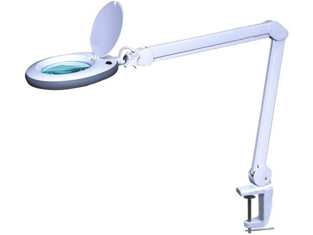 Lampa de birou cu lupa LAMP-5D-LEDN1